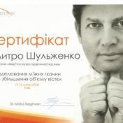 Шульженко Дмитрий: сертификат фото 19